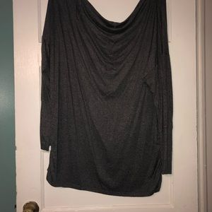Maurice's off shoulder light sweater